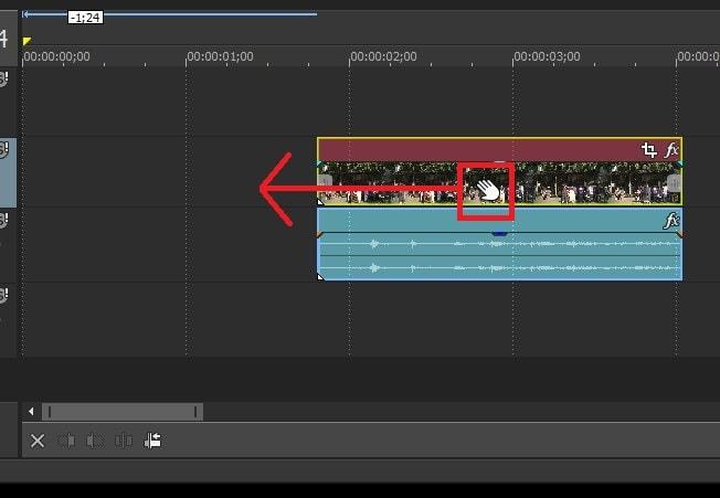 動画を移動させる方法 VEGAS MovieStudio17動画編集ソフト ベガスムービースタジオ入門