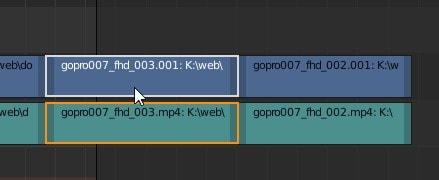 動画の順番を変更する方法 3DCGフリーソフトBlender