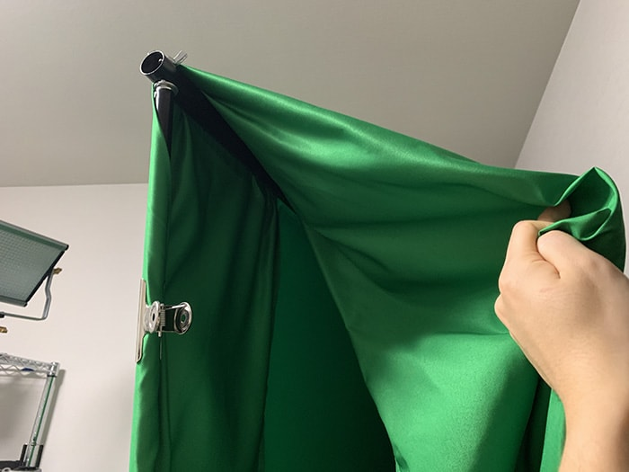 グリーンバックの準備 グリーンバックで背景を透過させる方法