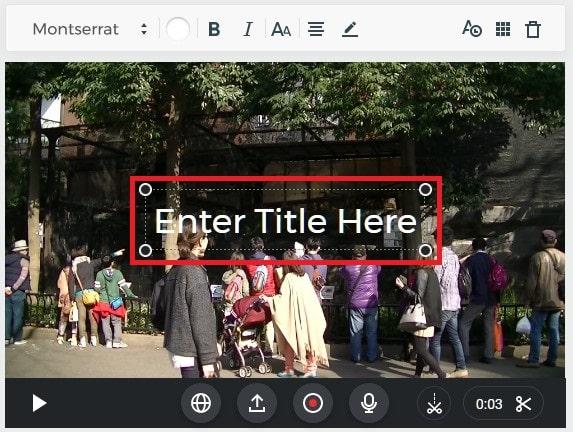 テキストテロップを挿入する方法 動画編集サービスFlexclipの使い方