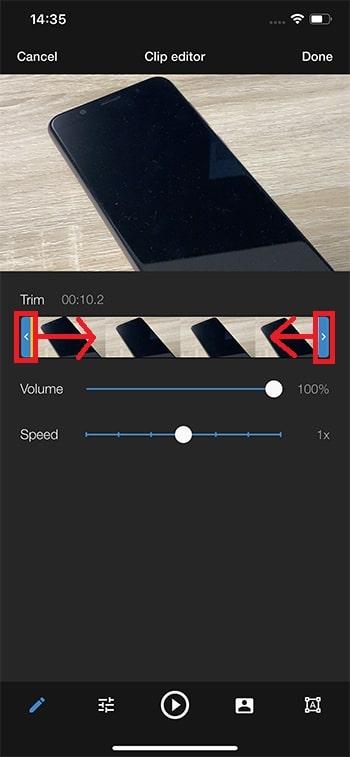 動画をカットトリミング編集する方法 WeVideoの使い方