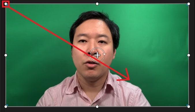 ピクチャインピクチャを作る方法 PowerDirector365Macの使い方