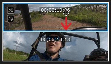 表示変更 ビデオコラージュデザイナーの設定方法 PowerDirectorの使い方