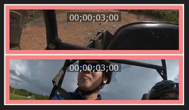 境界線の色を変更する方法 ビデオコラージュデザイナーの設定方法 PowerDirectorの使い方