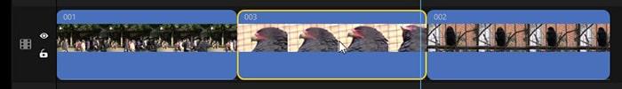動画を移動させる方法 動画編集ソフトFilmeの使い方