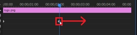キーフレームを移動させる方法 Adobe Premiere Proの使い方