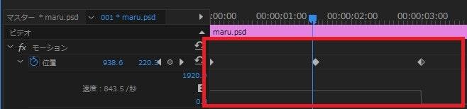 時間補間法の使い方 Adobe Premiere Proの使い方