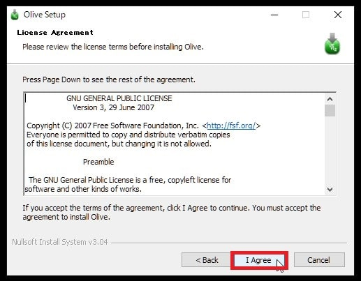 Oliveをダウンロード・インストールする方法 動画編集フリーソフト