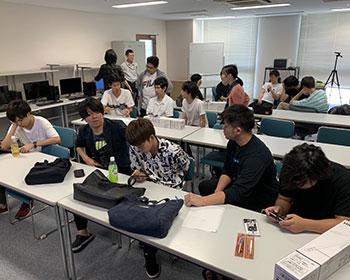 動画教室風景 日本文理大学