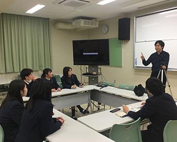 動画教室風景 大分県津久見高校