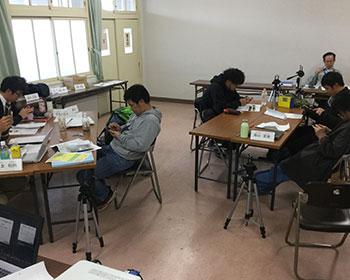 動画教室風景 佐賀農業大学校