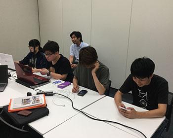 動画教室風景 福岡大学
